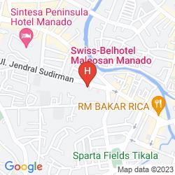 Karte SWISS-BELHOTEL MALEOSAN MANADO