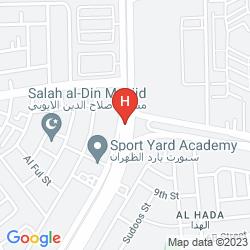 Karte HOLIDAY INN AL KHOBAR