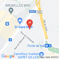 Karte IBIS BRUSSELS CENTRE GARE MIDI
