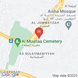 Karte UMM AL QURA HOTEL MAKKAH - BY AL RAWDA