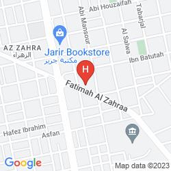 Karte BOUDL AL MALAZ