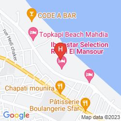Karte PRIMASOL EL MEHDI