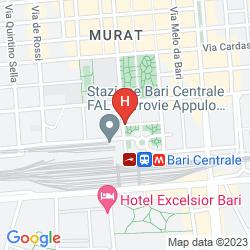 Karte GRAND HOTEL LEON D'ORO