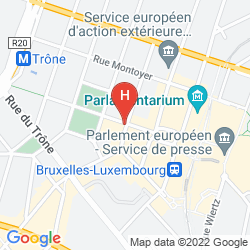 Karte LEOPOLD HOTEL BRUSSELS EU