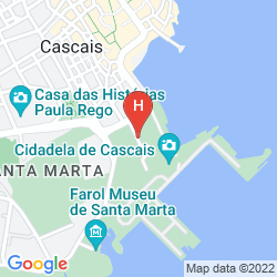 Karte PESTANA CIDADELA CASCAIS - POUSADA & ART DISTRICT