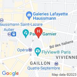 Karte W PARIS OPERA