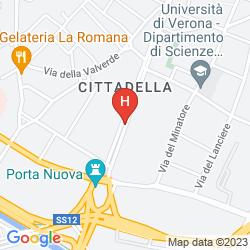 Karte GRAND HOTEL DES ARTS