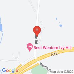 Karte BEST WESTERN IVY HILL HOTEL