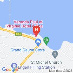 Karte VERANDA PAUL & VIRGINIE HOTEL & SPA