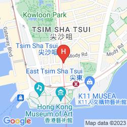 Karte NEW TOKYO HOSTEL