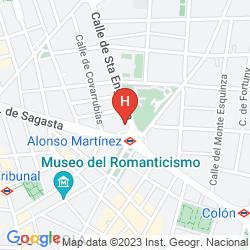 Karte SARDINERO MADRID