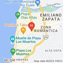 Karte HOTEL POSADA DE ROGER
