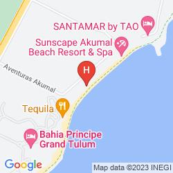 Karte AQUATECH VILLAS DE ROSA