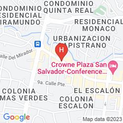 Karte HOSTAL LONIGO