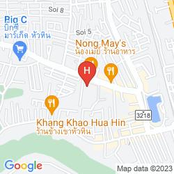 Karte G HUA HIN RESORT & MALL