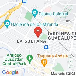 Karte ARBOL DE FUEGO
