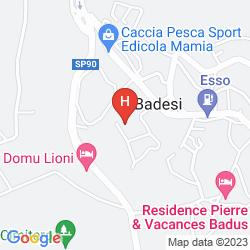 Karte RESIDENCE LE ONDE