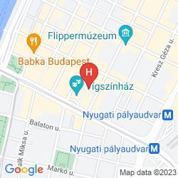 Karte NH BUDAPEST CITY