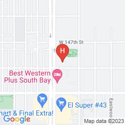 Karte BAYMONT INN & SUITES LAX