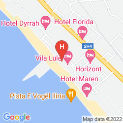 Karte INTERNATIONAL ILIRIA HOTEL