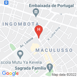 Karte LOANDA HOTEL