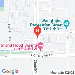 Karte STARWAY TIANAN REGA HOTEL