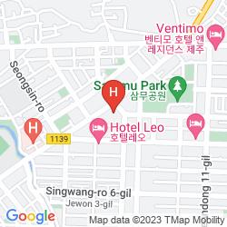 Karte JEJU AIRPORT HOTEL