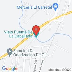Karte DAYS INN CASA DEL SOL