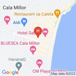 Karte MONACO APARTAMENTOS