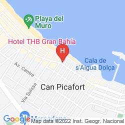 Karte APOLO HOTEL
