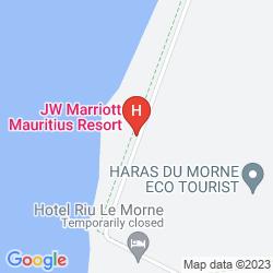 Karte THE ST. REGIS MAURITIUS RESORT