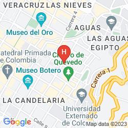 Karte HOTEL CASA DECO
