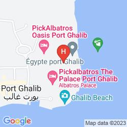Karte CROWNE PLAZA SAHARA SANDS RESORT