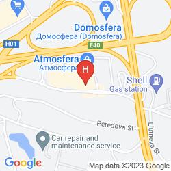 Karte RAMADA ENCORE KIEV
