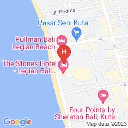 Karte ALAM VILLA AT ALAM KULKUL RESORT