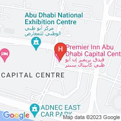 Karte PREMIER INN ABU DHABI CAPITAL CENTRE