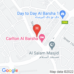 Karte MARMARA HOTEL APARTMENTS