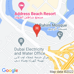 Karte PEARL MARINA HOTEL APARTMENT