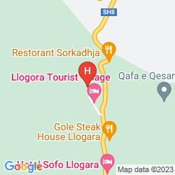 Karte TOURIST VILLAGE LLOGORA