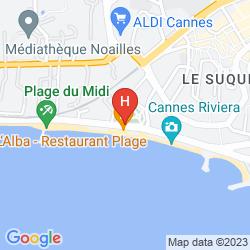 Karte 1835 WHITE PALM HOTEL (X SOFITEL)