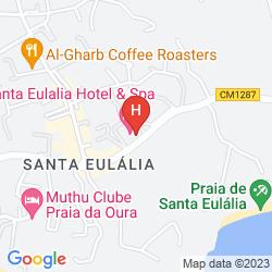 Karte SANTA EULÁLIA HOTEL & SPA