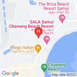 Karte BAAN HAAD NGAM BOUTIQUE RESORT & VILLAS