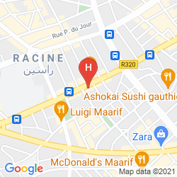 Karte LE PALACE D'ANFA