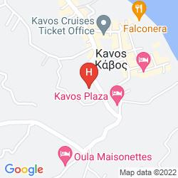 Karte KAVOS PANORAMA COMPLEX