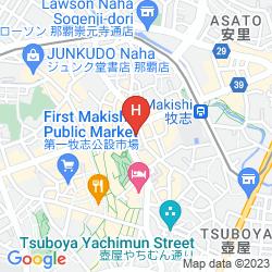 Karte HOTEL PALM ROYAL NAHA