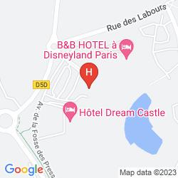 Karte EXPLORERS HOTEL AT DISNEYLAND PARIS