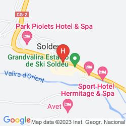Karte PIOLETS SOLDEU CENTRE