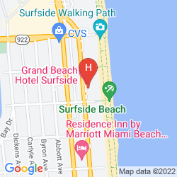 Karte GRAND BEACH HOTEL SURFSIDE