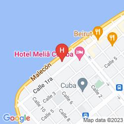 Karte HABANA RIVIERA BY IBEROSTAR