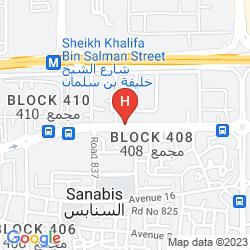 Karte TULIP INN BAHRAIN SUITES AND RESIDENCES